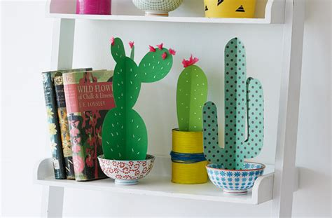 Cactus Papercraft - cactus craft goodtoknow