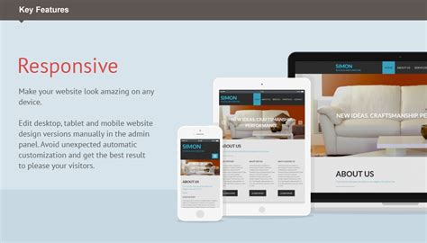 html responsive design iframe interior furniture moto cms 3 template 53224 templates com