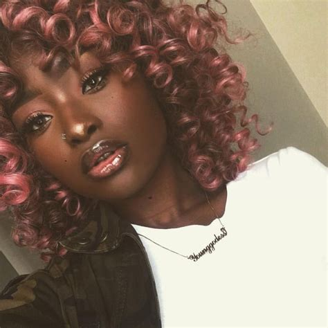 hairstyle pictures of dark skin women pictures hair colors that go with dark skin women