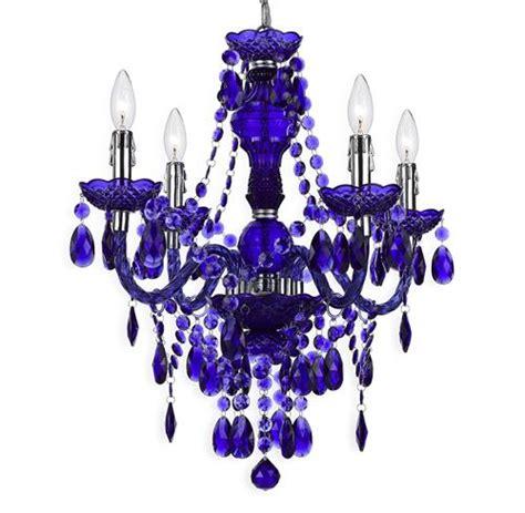 Outdoor Loveseats 5716 by Zoe Global Bazaar Indigo Purple 4 Light Mini Chandelier