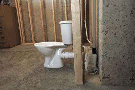 bidet drainage connection cr4 thread macerator toilet waste pipe issue