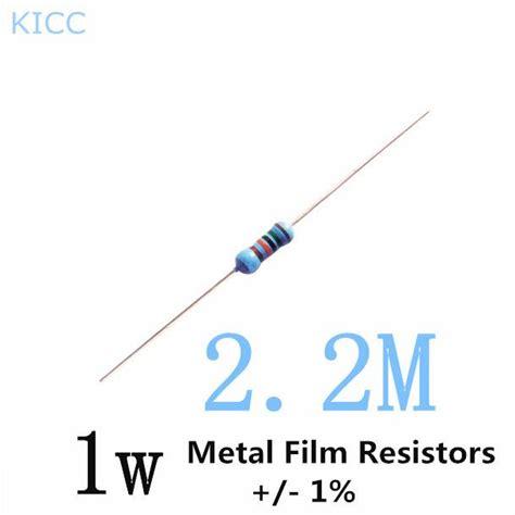 1w 2 2m ohm 1 metal resistor 1w 2mring resistors