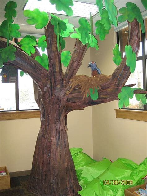 Make Tree With Paper - paper mache tree paper gardens