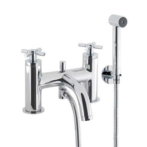 bath tap with shower attachment crosswater totti bath tap and shower attachment