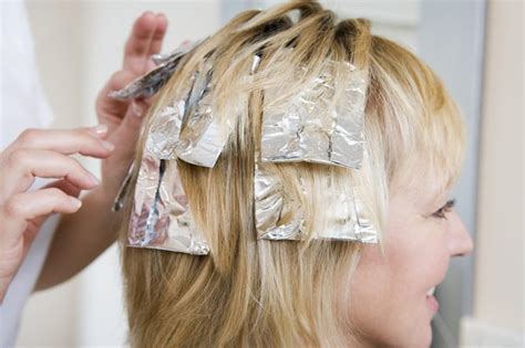 picture of hair clours foil are foil or cap highlights better livestrong com