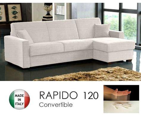 canape convertible rapido solde canape d angle convertible rapido 120cm dreamer tissu