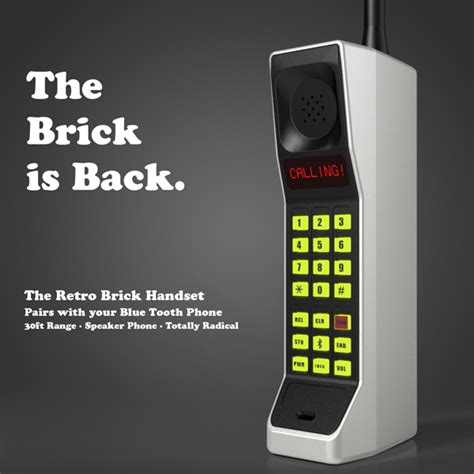 Delightful Vintage Style Car Radio #11: RETRO-BRICK-PHONE.jpg
