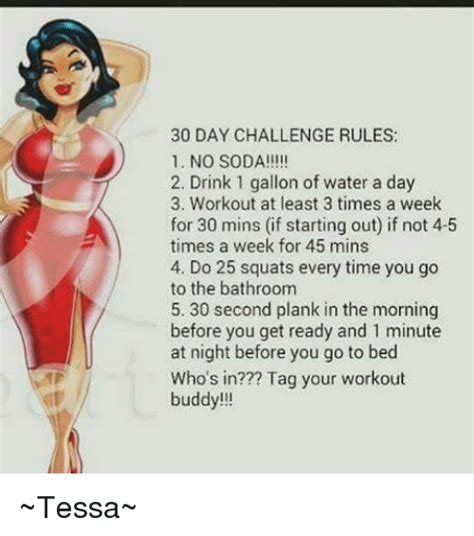 everytime i go to the bathroom my anus bleeds 30 day challenge rules 1 no soda 2 drink 1 gallon of