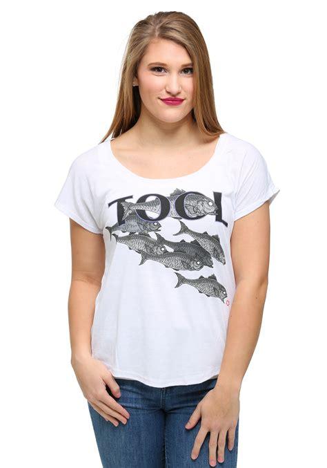Tshirt Junior Kry womens tool fish dolman t shirt