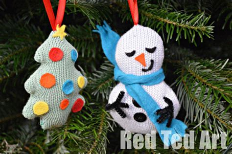 5 homemade christmas ornaments for children to make