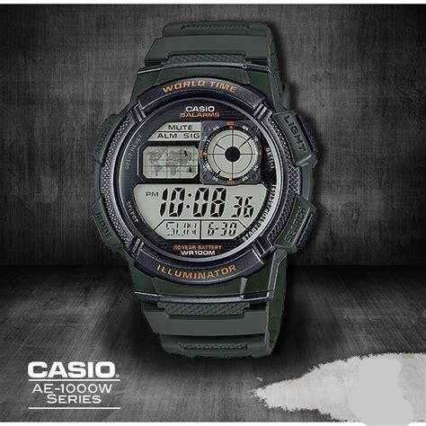 Casio Original Word Time casio ae 1000w 1a original world time best buy indonesia