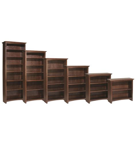 24 inch tall bookcase 24 48 inch mckenzie bookcases unlimited furniture co
