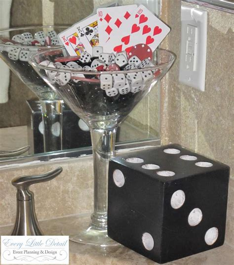 Casino Decoration Ideas by Casino Birthday Birthday Ideas Photo 11 Of 26