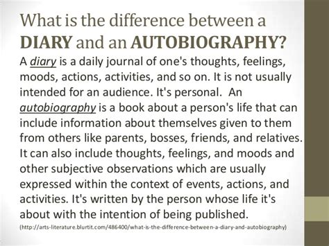 Whose Biography And Autobiography Is This | an introduction to autobiography and biography