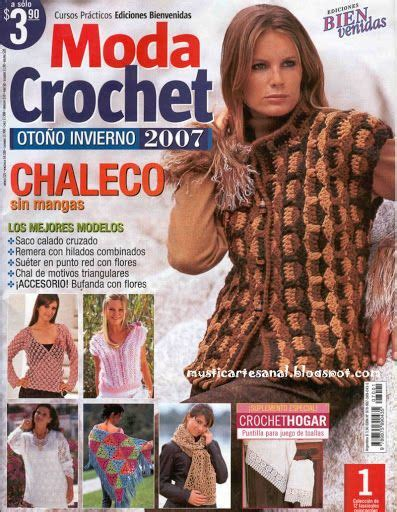 revistas de crochet en espanol 98 best images about crochet revistas espa 209 ol on pinterest