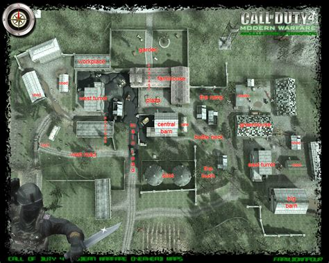 call of duty 4 maps overview of maps for call of duty 4 xboxer360