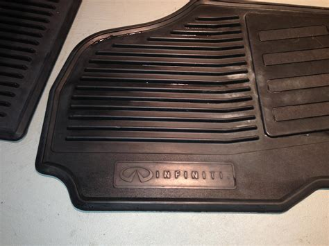 Infiniti All Weather Floor Mats by Fs Midwest Black All Weather Floor Mats Rubber