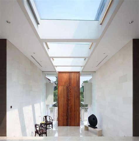 interior courtyard garden home