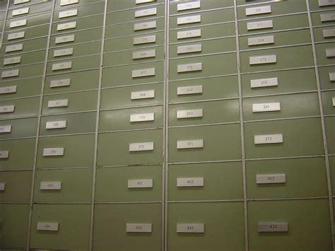 Safety Box Bank safe deposit box
