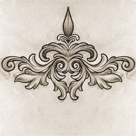 filigree tattoo design best 20 filigree ideas on