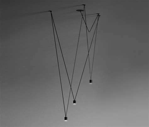 ceiling light 4 x matching match pendant l ceiling lights in aluminium from vibia architonic
