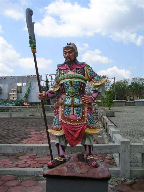 Stempel Dewa Kwankong Guan Yu 7 dewa perang terkenal mad for speed and otherz