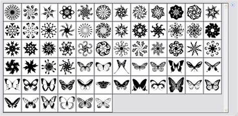 pattern brush photoshop cc butterflies with round pattern photoshop brushes