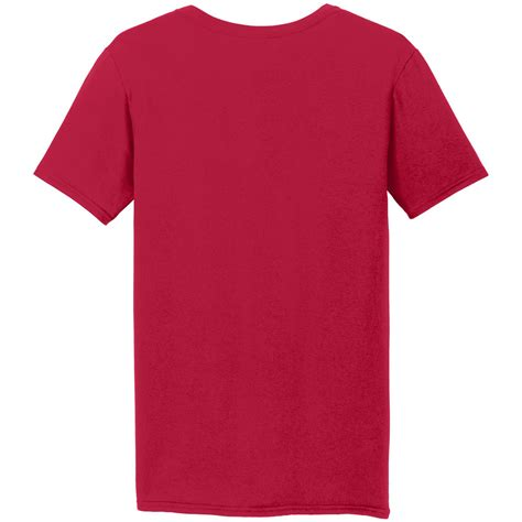 Kaos Live Tshirt Gildan Softstyle 1 gildan 64v00 softstyle v neck t shirt cherry fullsource