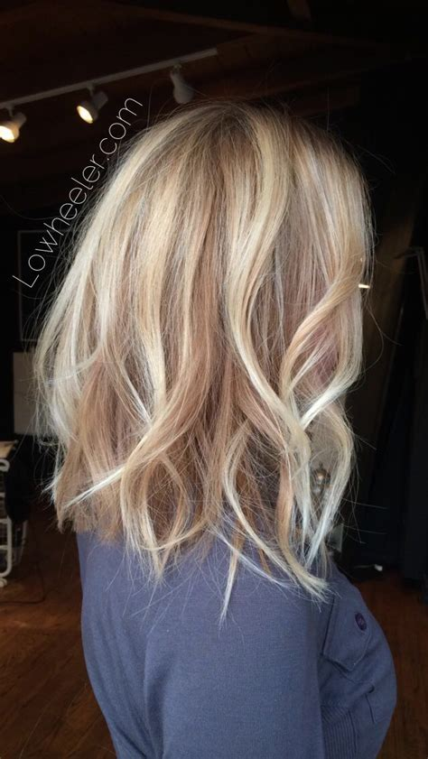ombre balayage color melt blonde highlights long bob blonde long bob hairstyles 2017 hairstyles