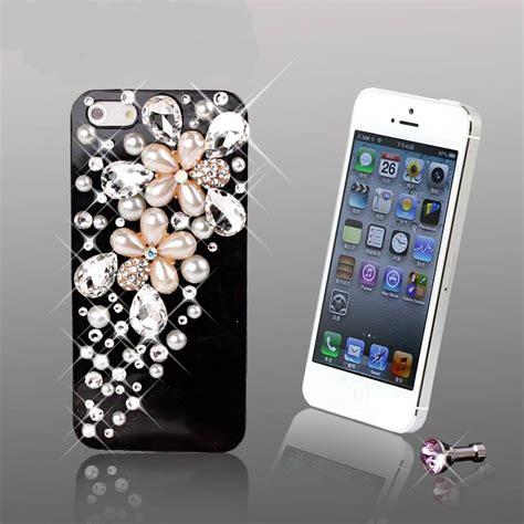 Hardcase Swarovski Iphone 5 5s 5 Se Blink2 Pink White telefoonhoesjes iphone 5s