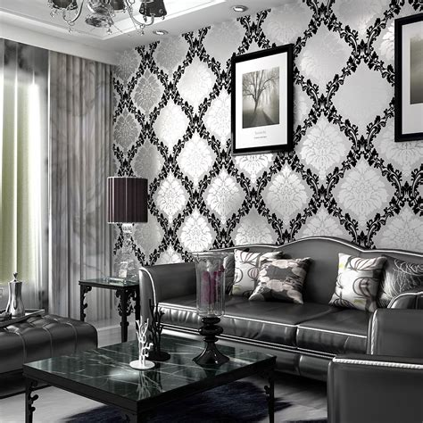 wallpaper for grey room grey living room wallpaper modern house