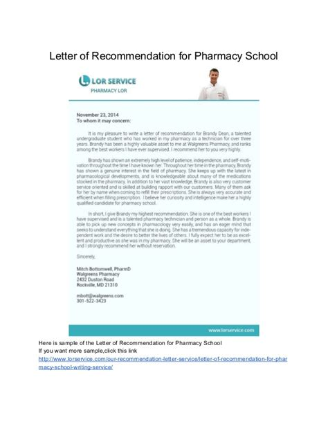 Albany College Of Pharmacy Letter Of Recommendation sles of letter of recommendation