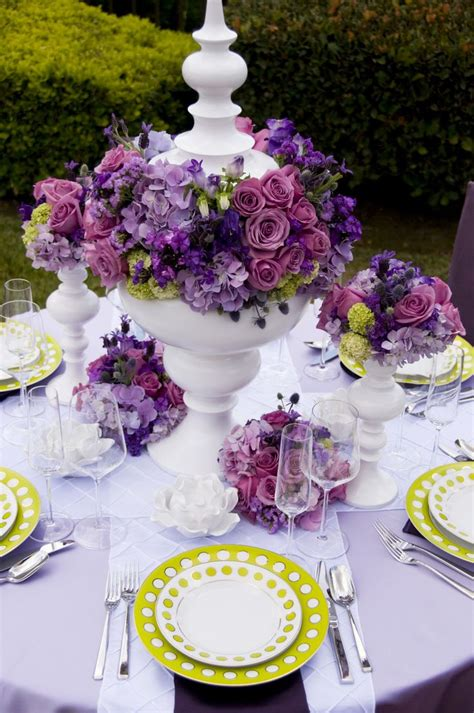 the color purple setting 25 best ideas about purple table settings on