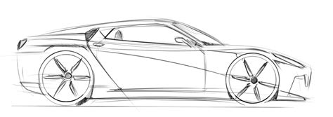 Sketches Of Cars by How To Draw Cars Side View