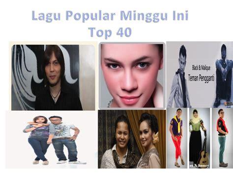 lagu barat terbaru minggu ini blogspot malaysian charts top 40 lagu popular minggu ini top 40
