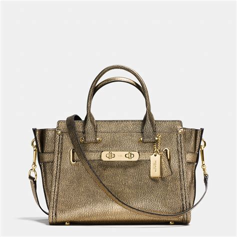 Coach Swagger 27 lyst coach swagger 27 pebbled leather shoulder bag in