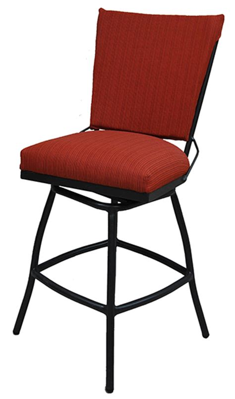 alfa bar stools 34 inch outdoor jenna swivel bar stool cushion seat alfa