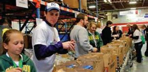 Volunteering At A Food Pantry by Az Food Banks Brace For News Service