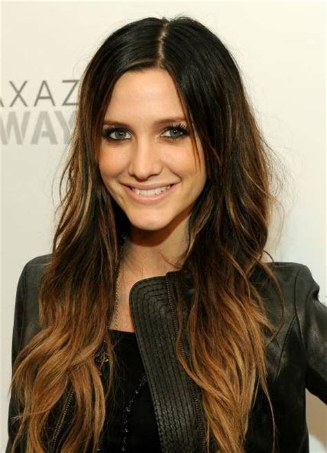 pics of brunettes with hombre carla fashionholic ombre hair