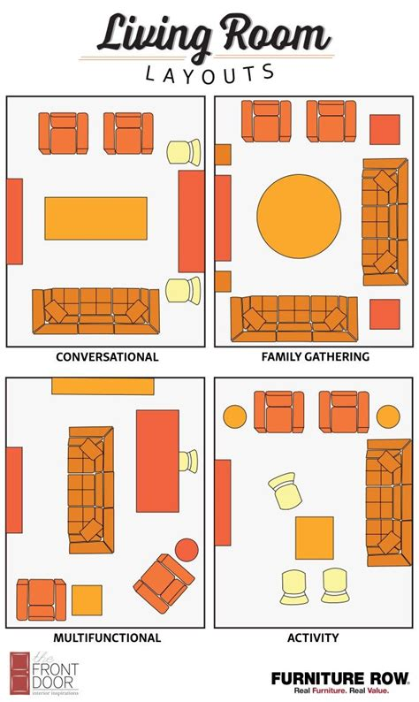 Best Layout For Living Room by 25 Best Ideas About Living Room Layouts On