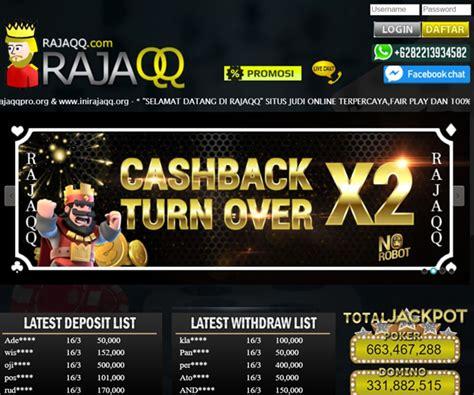 rajaqq situs judi pkv games poker bandarq domino qq
