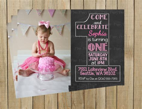 1 year birthday invitation templates free 30 birthday invitations free psd vector eps ai