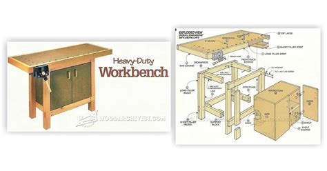 small bench plans small workbench plans woodarchivist