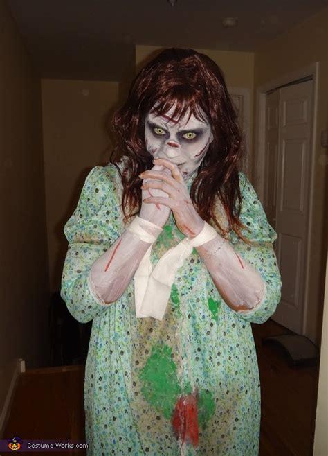 homemade exorcist costume halloween web regan from the exorcist costume photo 2 5