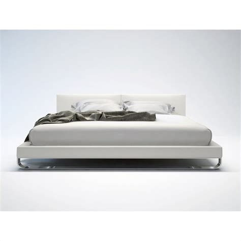 modloft chelsea bed modloft chelsea bed in white leather md331 xx wht