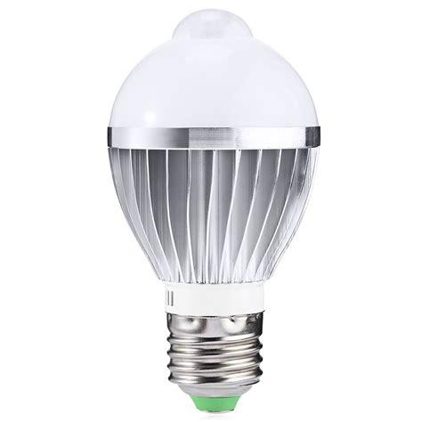 Ir Led Light Bulb Ir Motion Sensor Led Bulb Spotlight L E27 5w 7w 5730smd Cool White Warm White Ac 85 265v