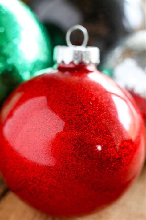 diy glitter twine ornaments diy glitter ornaments for no 2 pencil