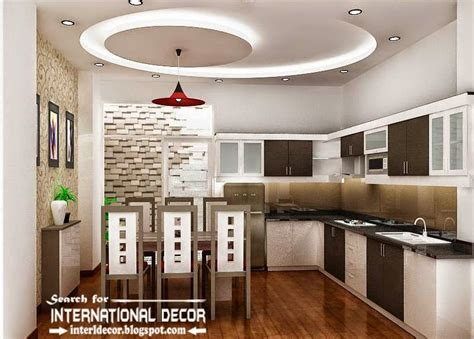 Kitchen Ceiling Designs 10 Unique False Ceiling Designs Made Of Gypsum Board