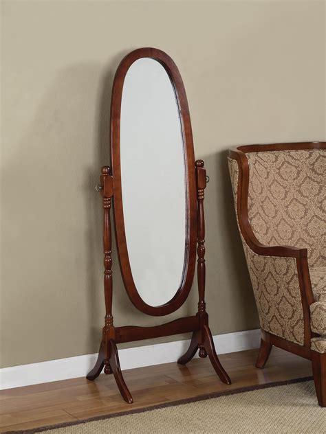 powell furniture accessories heirloom cherry cheval mirror