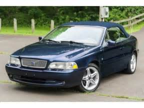 car owners manuals for sale 2000 volvo c70 regenerative braking purchase used 2000 volvo c70 hpt high pressure turbo 5speed manual servicd southern car carfax